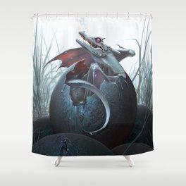 Hatchling Shower Curtain