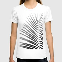 Palm Leaf | Black and White T-shirt