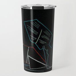 Cubist Trails Travel Mug