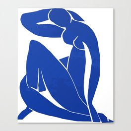 Henri Matisse - Blue Nude 1952 - Original Artwork Reproduction Canvas Print