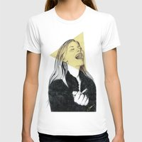blondie T-shirts featuring Smiling Blondie by Coco Dávez