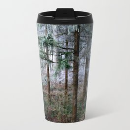 the red forest crossing Travel Mug