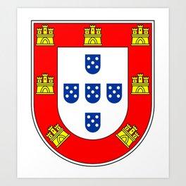 Portuguese escudo Art Print