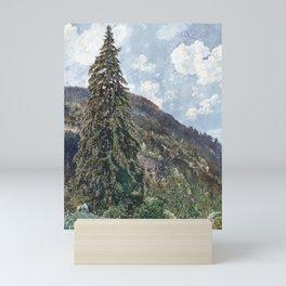 Rudolf von Alt The old Spruce in Bad Gastein Mini Art Print