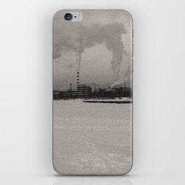 Ural urban winter iPhone Skin