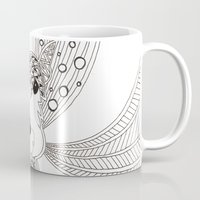 schnauzer Mugs featuring Schnauzer by Noreen Loke