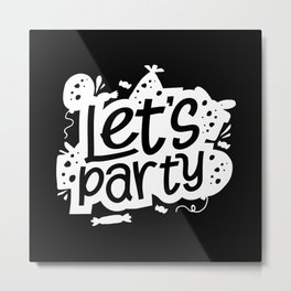 Birthday Party Metal Print