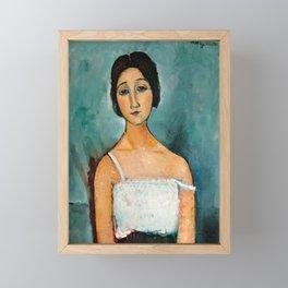 "Amedeo Modigliani ""Christina"" Framed Mini Art Print"