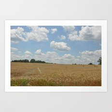 Maryland Plains Art Print