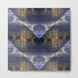 Water and Clouds Metal Print