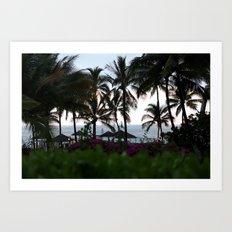 Hawaiis Backyard Art Print