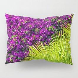 Pink and green Pillow Sham