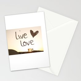 Live Love Stationery Cards