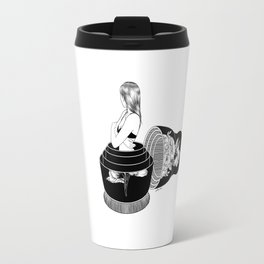 Nobody Knows The Real Me Travel Mug