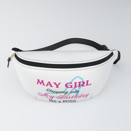 May Girl Birthday Fanny Pack