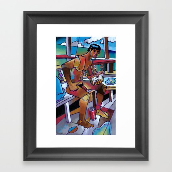 Sandwich Framed Art Print