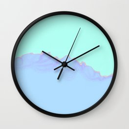 mountain top Wall Clock
