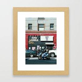 King Cobra. That's what she said. Framed Art Print