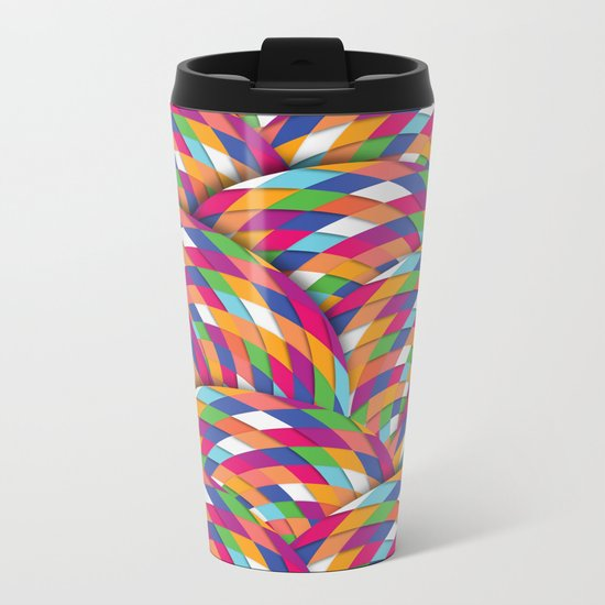 Joyful Metal Travel Mug