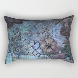 Gaian Forest Rectangular Pillow