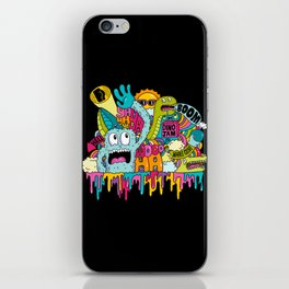 Dino Jam iPhone Skin