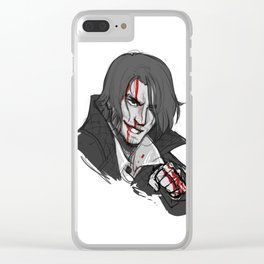 Master Assassin Clear iPhone Case