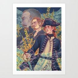 Yellow acacia Art Print