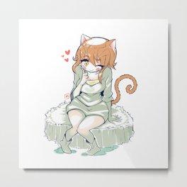 Sweet Girl Metal Print
