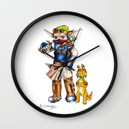 Jak and Daxter Wall Clock