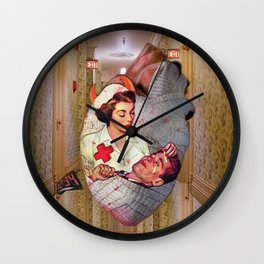 Please Love Me Wall Clock