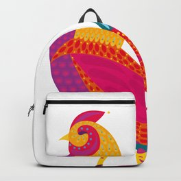 Gallo de Fuego - Cock of fire - chinese horoscope Backpack