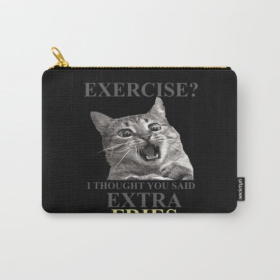 exercise what? Carry-All Pouch