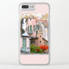 Gaudi Park Guell Clear iPhone Case