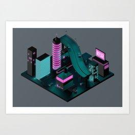 Nippon 2061 Art Print