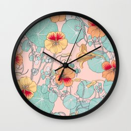 Lily Pond #society6 #decor #buyart Wall Clock