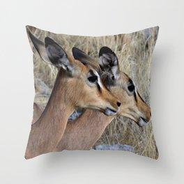 Impala Double Throw Pillow