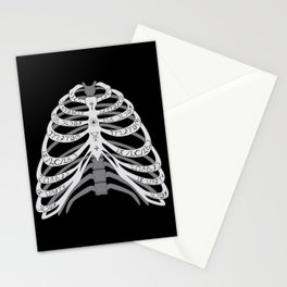 Winchester Bones Stationery Cards