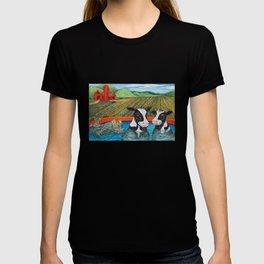 Cows in a Hot Tub T-shirt
