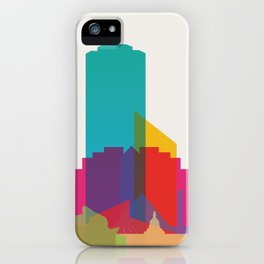 Shapes of Edmonton iPhone Case