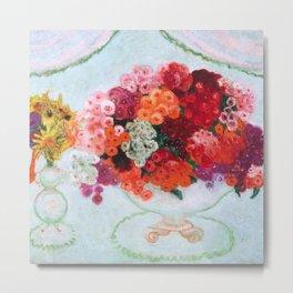 "Florine Stettheimer ""Still life with flowers"" Metal Print"