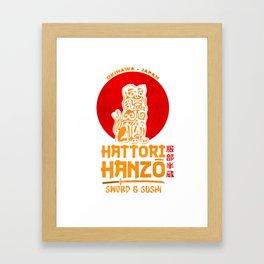 Hattori Hanzo Framed Art Print