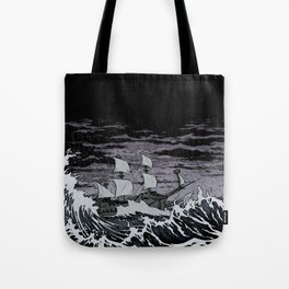 Galleon Tote Bag