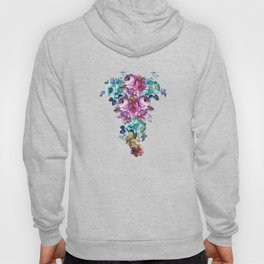 Fluorescent Roses Hoody