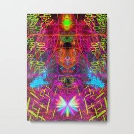 Mental Recharge Metal Print
