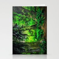 giants Stationery Cards featuring Mossy Giants by JMcCool