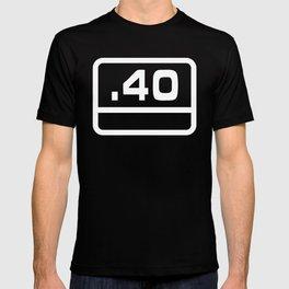 G .40 Caliber Bullet T-shirt