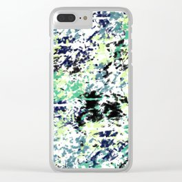 Abstract pattern 152 Clear iPhone Case