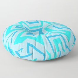 Ice Banded - Coral Reef Series 009 Floor Pillow