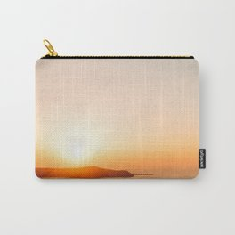 Sunset on Oia Greek Islands Greece Carry-All Pouch