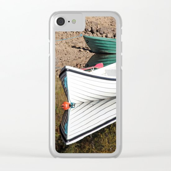 Boating for beginners Clear iPhone Case